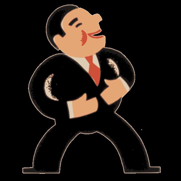 Laughing Business Man