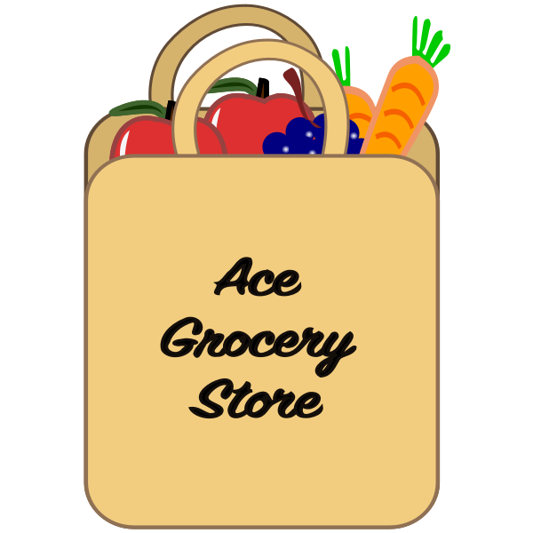 Grocery shopping bag