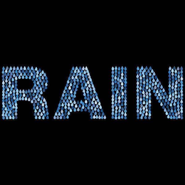 Rain Drops Aqua