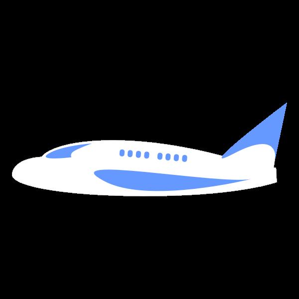 airplane aeroplane minimal outline
