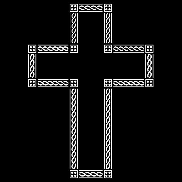Decorative Chain Cross