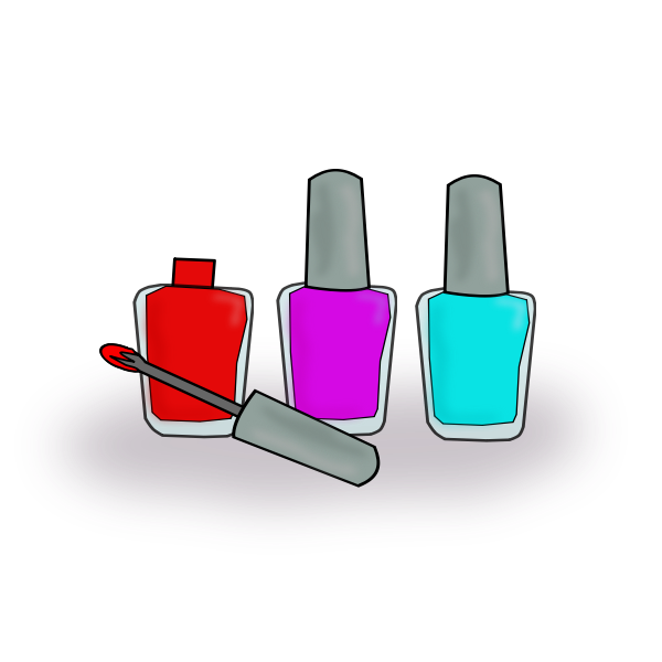 Simple Finger Nail Polish