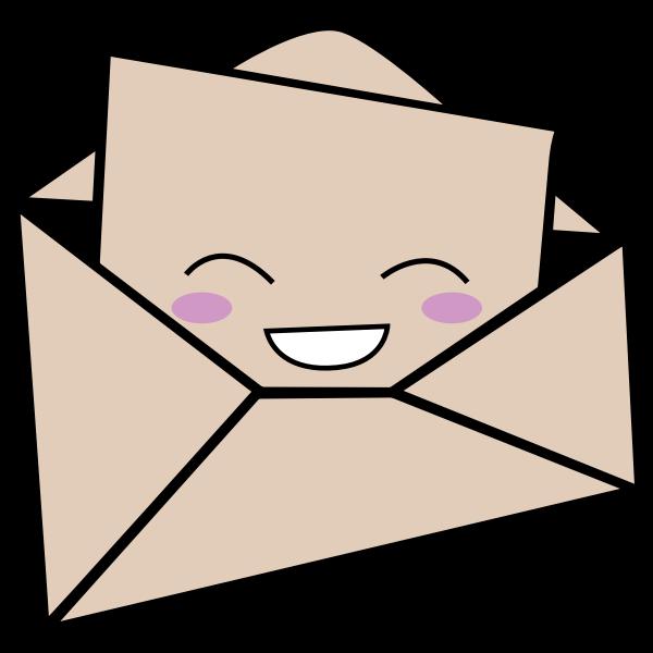 Kawaii Letter And Envelope
