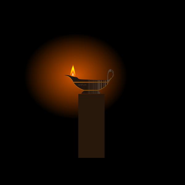 Lampada ad olio