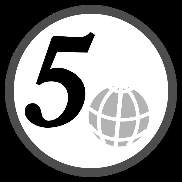 simple 5 euro cent