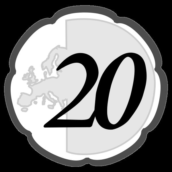 simple 20 euro cent