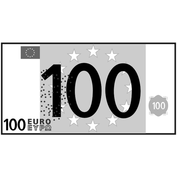 simple 100 euro