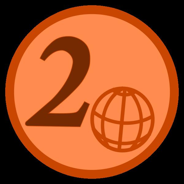 simple 2 euro cent