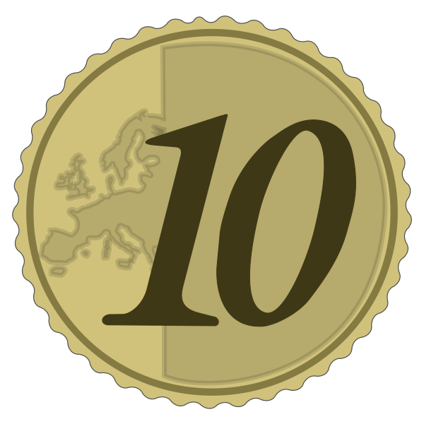 simple 10 euro cent