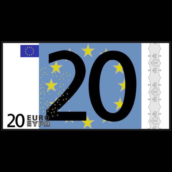 simple 20 euro