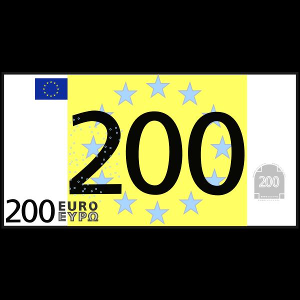 simple 200 euro