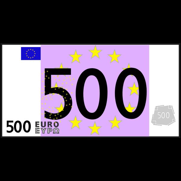 simple 500 euro