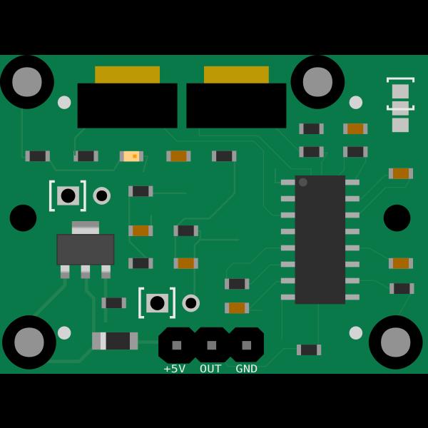 PIR Sensor Module Circuit Board