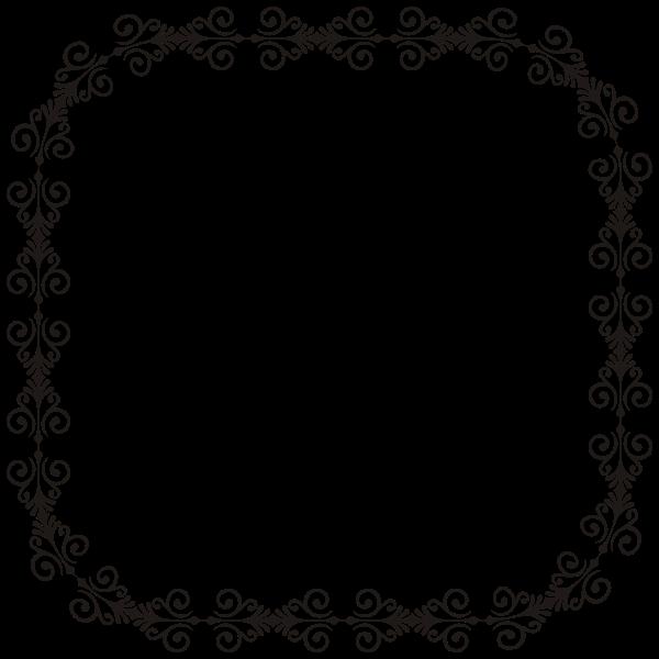 Art Deco Style Flourish Frame 4