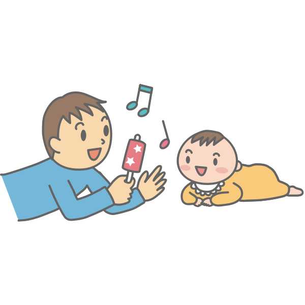 Father with Baby (#2)