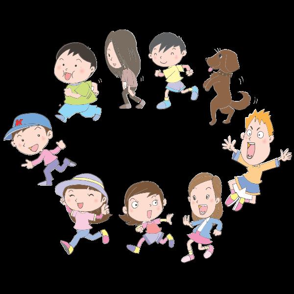 Children in Circle (#2)