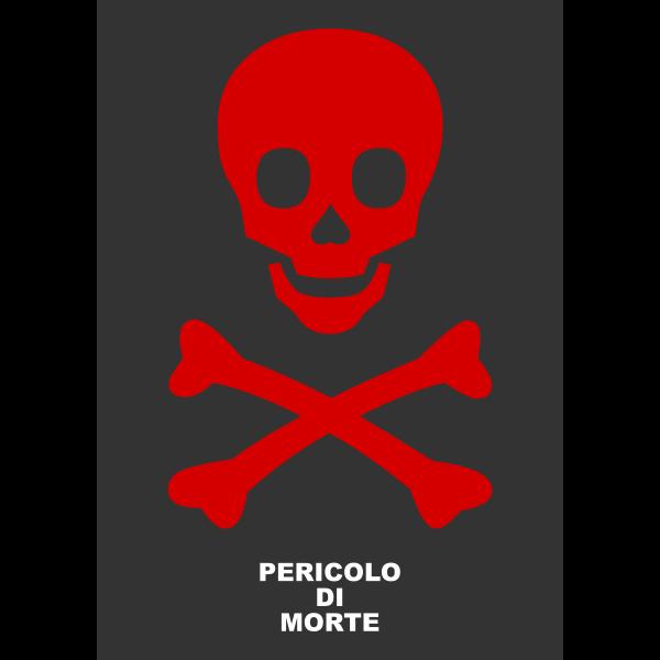 Death danger symbol