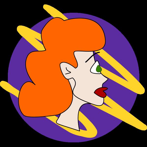 Doodle Girl - Redhead
