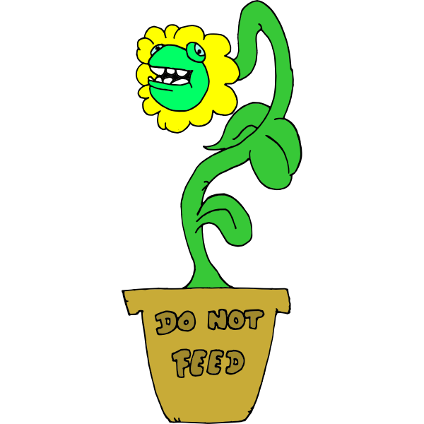 Do Not Feed Plant