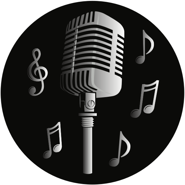 Music Microphone Logo