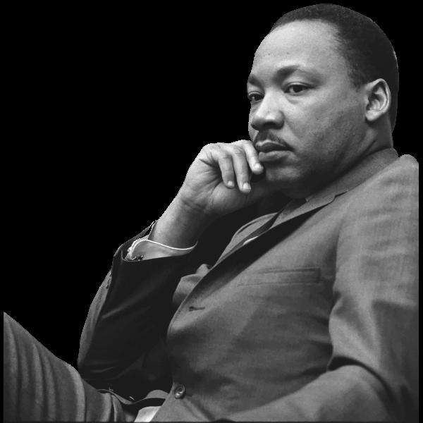 Martin Luther King Jr   Free SVG