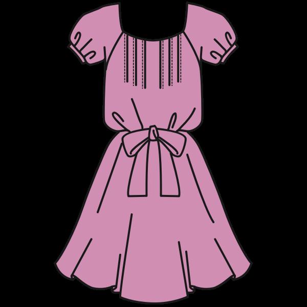 Pink dress clothing