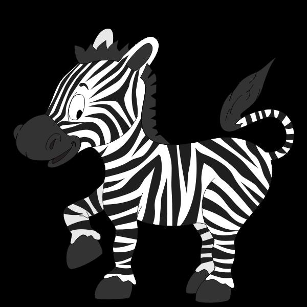 Cartoon zebra-1632590206