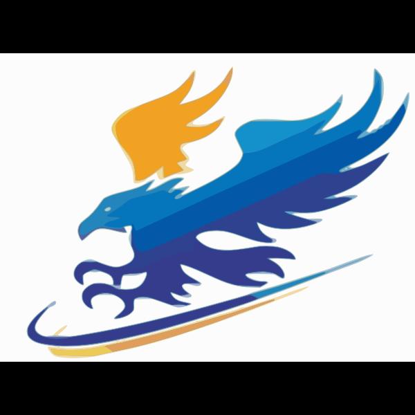 Diving Blue Eagle