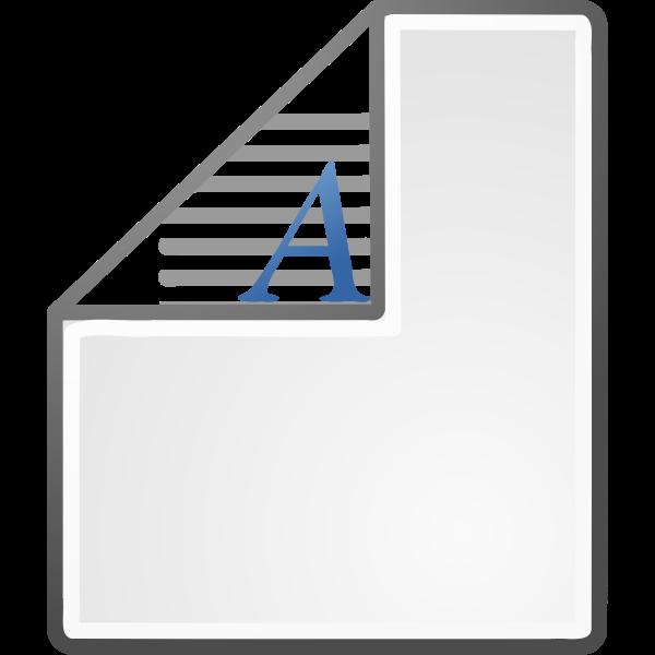 Tray orientation paper