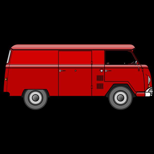 Vintage Van By Konrad Conrad