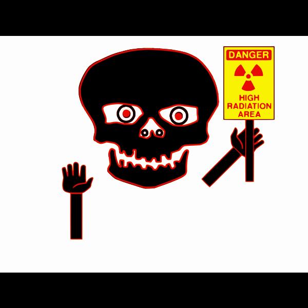 Radiation danger symbol