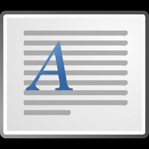 Horizontal Printer Document Icon