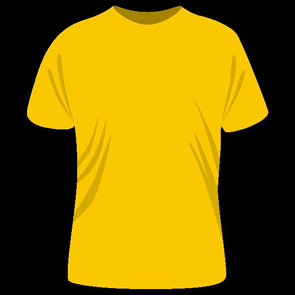 T-Shirt in yellow
