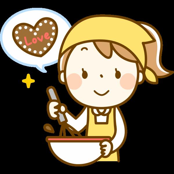 Making Heart-Shaped Cookies