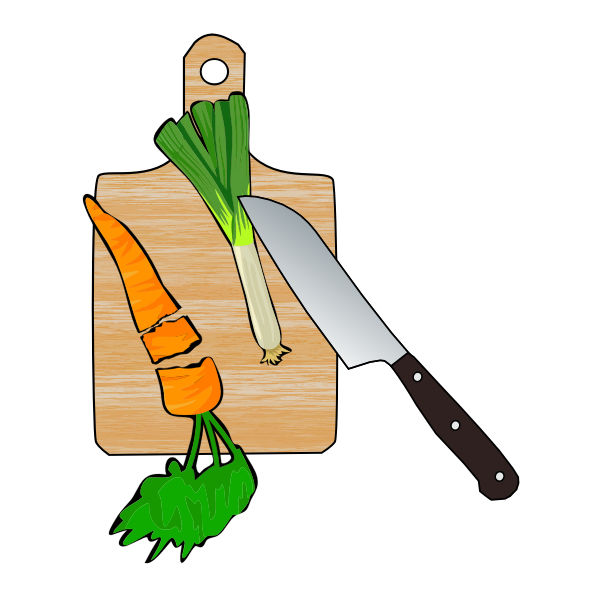 Cut veggies