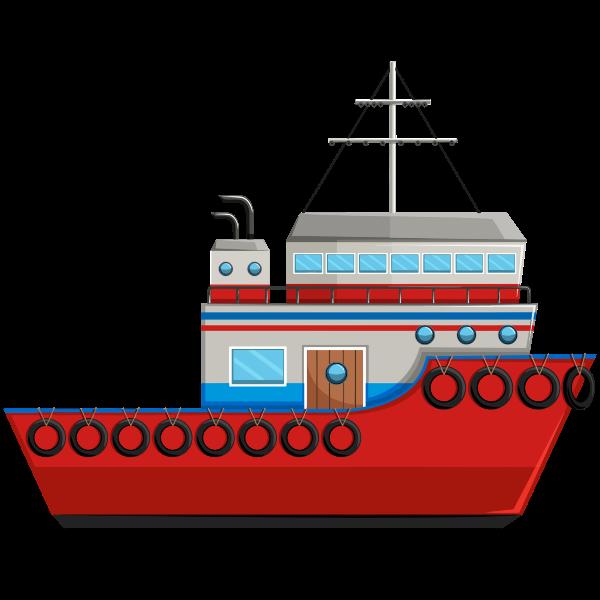Cartoon Ship By kreatikar