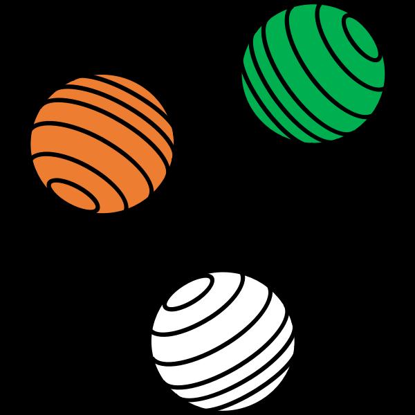 Three balls