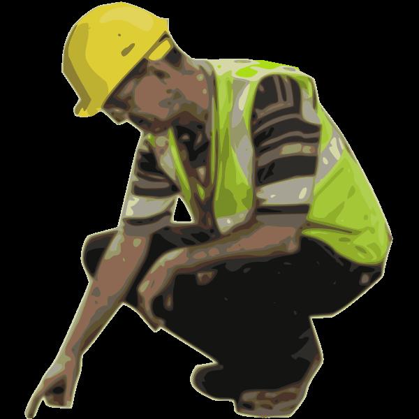 Hard Hat Worker
