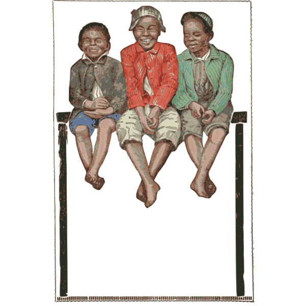 Three Kids Frame