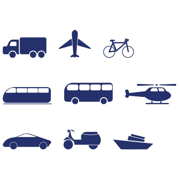 Transportation Icon Pack By ppokta Variation 2