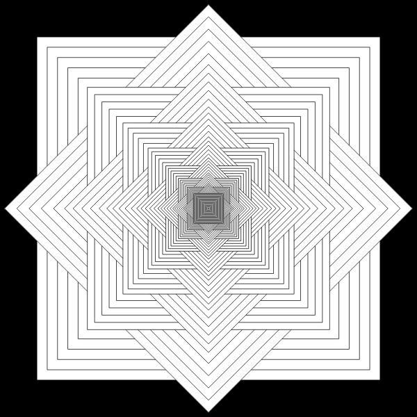 Square Rosette