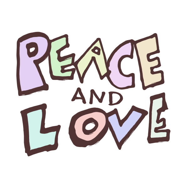 Peace and Love - Text