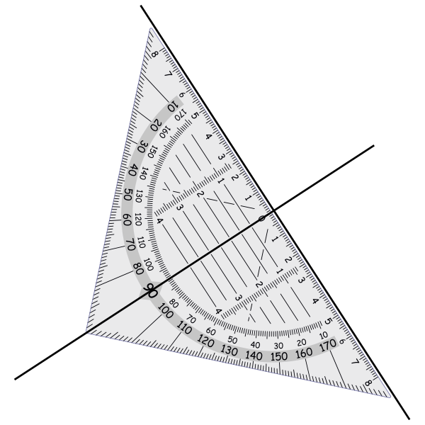 symbol perpendicular lines