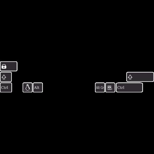 Layout meta bépo keyboard Asus K93SM