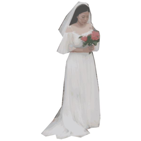 Wedding Dress Lady