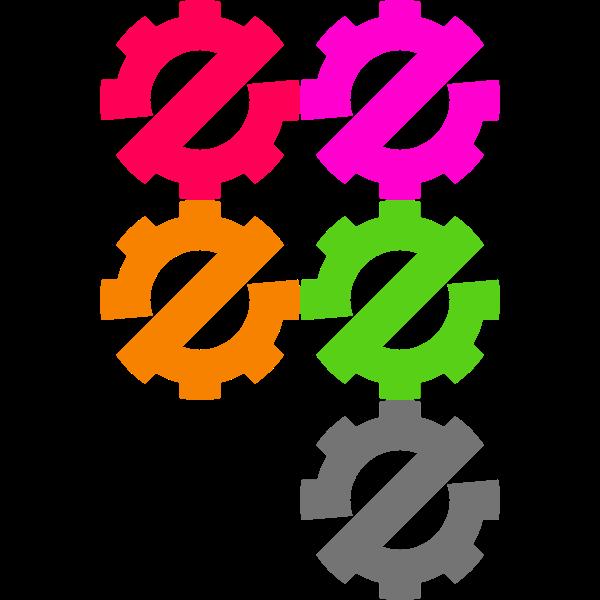 Zerowaste Symbol High Visibility Color