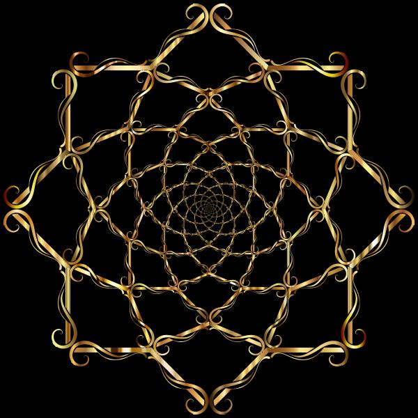 Elegant Simple Maelstrom Gold