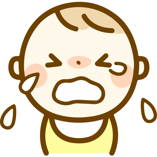 Boy crying cartoon image