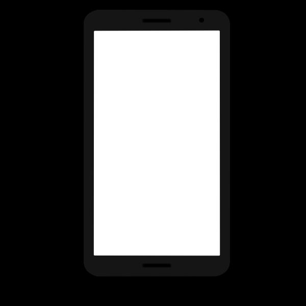 Flat smartphone, 16:9