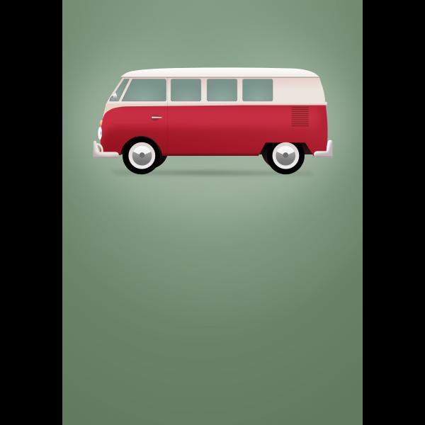 Vintage Poster Volkswagen T1